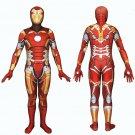 Marvel Iron Man Tony Stark cosplay zentai Suit  Halloween Part Costume