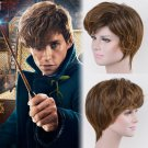 Fantastic Beasts and Where to Find Them Newt Scamander cosplay wig wigs