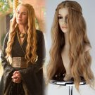 Game of Thrones The queen Cersei Lannister cosplay brown hair Halloween Party Fancy silver wigs