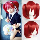 TV series Land of the Lustrous Red Beryl cosplay Halloween Party Comic-Con red Anime wigs