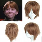 Film Harry Potter Ronald  Weasley  Ron cosplay Halloween Party Comic-Con brown wigs