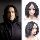 Film Harry PotterSeverus Snape cosplay Halloween Party Comic-Con black wigs