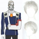 DARLING in the FRANXX code 081 cosplay Halloween Party Comic-Con gray short Anime wigs