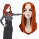 DARLING in the FRANXX nana cosplay Party Comic-Con orange the distribution type Anime wigs