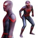 men's armor Ultimate Spider-Man Marve's Cosplay zentai bodySuit Hallowmas party Costume
