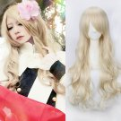 APH Axis Powers Hetalia Hungary Elizabeta cosplay Comic-Con Party light flaxen curly wigs