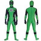 Marvel's deadpool green  model cosplay Halloween party Comic-Con zentai bodysuit Costume