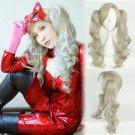 Persona 5 P5 Ann Takamaki cosplay wig orange long straight Comic-Con Party Anime wigs