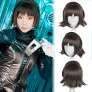 Persona 5 P5 新島 真 Makoto Niijima cosplay wig dark brown short Comic-Con Party Anime wigs