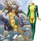 Marvel's X-MEN Rogue Anna Marie  cosplay suit Halloween Comic-Con party zentai Costume