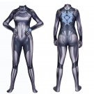 METROID Samus Aran sexy lovely Cosplay gray zentai bodysuit Fancy dress party Hallowmas Costume