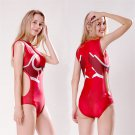 Women's DARLING in the FRANXX  lovely sexy cosplay red one-piece swimsuit Siamese swimwear