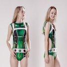 My Hero Academia Tsuyu Asui lovely sexy cosplay ACG one-piece swimsuit Siamese swimwear