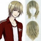 K Project Totsuka Tatara cosplay wig flaxen short Comic-Con Halloween Party Anime wigs