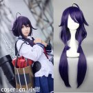 Kantai Collection 大鲸 Taigei cosplay wig purplel Halloween Comic-Con Party Anime wigs