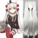 Kantai Collection 天津风 Amatsukaze cosplay wig pigtails Halloween Comic-Con Party Anime wigs