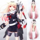 Kantai Collection 夕立改二 yuudachi cosplay wig Gradient color Halloween Comic-Con Party wigs