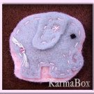 Lil' Elephant - Small Felt Hair Clips