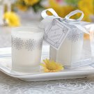 Scented Frosted Glass Votive - Daisy