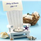 Adirondack Chair Tealight and Place Card Holder Wedding Favors