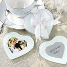 Capture My Heart Photo Coaster - Set of 2 Wedding Favors