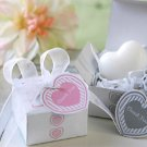 Gift Boxed Heart Mini-Soap with Heart Tag Wedding Favors