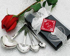 """Love Beyond Measure"" Heart Measuring Spoons in Gift Box Wedding Favors"
