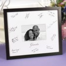 "Frame with ""Guests"" Signature Mat"