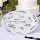 "13 3/4"" Personalized Guestbook Platter"