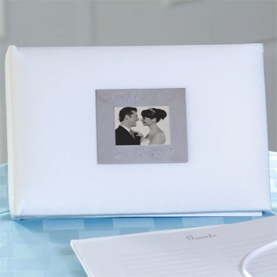 Personalized Photo Guest Book