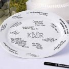 "13 3/4"" Monogram Platter - Personalized"