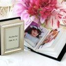Little Book of Memories - Placecard Holder & Mini Photo Album Wedding Favors