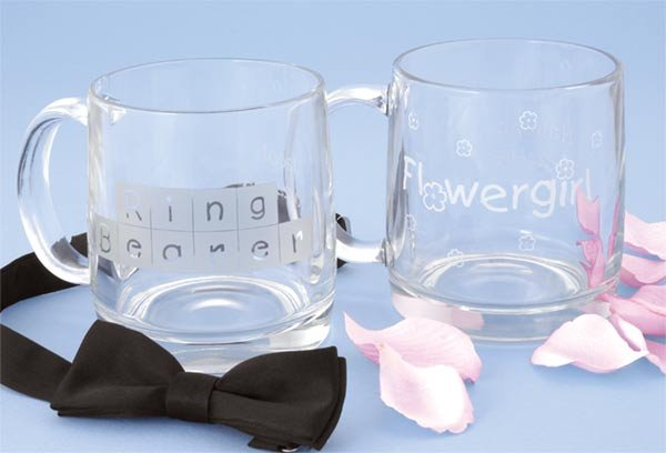 Children's Personalized Glass Mugs