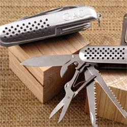 Personalized Stainless Steel Multi-Function Knife - Engraved Groomsmen Gift