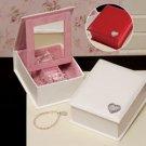 Personalized Folding Jewelry Box - Bridesmaid Gift