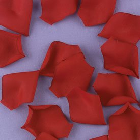 100 Rose Flower Petals Wedding Decorations - In White, Ivory, Red, Pink, and Lavander
