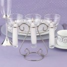 Triple Candle Centerpiece Table Wedding Decorations