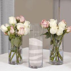 Personalized Wedding Sand Ceremony Complete Kit - Unity Candle Alternative