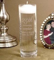 Personalized Anniversary Floating Candle