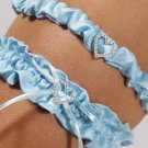 Blue Crush Bridal Garter & Tossing Garter
