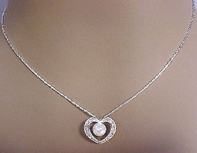 Capture my Heart Necklace and Earrings Set