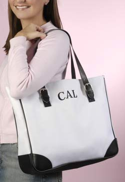 Personalized Buckle Tote Bag - Bridesmaid Gift