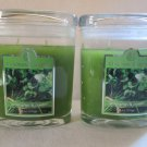 2 Colonial Candle 8 oz ~LEMONGRASS & CILANTRO~ Scented Oval Jar w/ lid