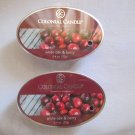 "2 Colonial Candle Simmer Snaps""WHITE OAK & BERRY"" 2.4 oz wax melts/ tarts"