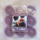 Colonial Candle ~~TROPICAL FIG~~Scented Tea Lights 9/ pack New