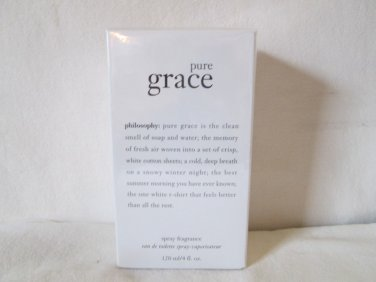 Philosophy ~PURE GRACE~ 4 oz EDT Spray, Sealed Free Shipping