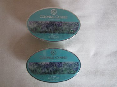 "2 Colonial Candle Simmer Snaps""PARISIAN CAFE""2.4 oz wax melts/ tarts(Free Ship)"