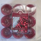 Colonial Candle ~~WHITE OAK & BERRY~~Scented Tea Lights 9/ pack New
