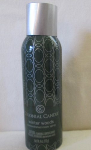 Colonial Candle Room Spray ~WINTER WOODS~ 4 oz