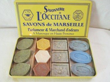 12 Authentic L'occitane  Soaps d'Invites Boxed Rare, Disc.